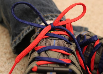 Shoe Laces on Tying Is A Snap  Colored Shoelaces To Help Kids Learn To Tie Fast